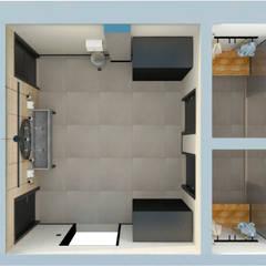 سرویس بهداشتی by B+ Arquitetura, Obras e Reformas