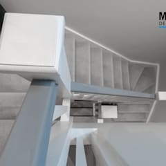 TWICKENHAM LOFT CONVERSION:  Stairs by The Market Design & Build