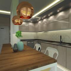 Looks Furniture – Lavabo+mutfak:  tarz Ankastre mutfaklar