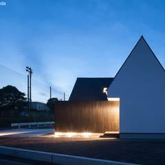 平屋デザインの家 OUCHI-41: 石川淳建築設計事務所が手掛けた一戸建て住宅です。