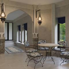 Piscinas  por GLAZOV design group концептуальная студия дизайна интерьеров