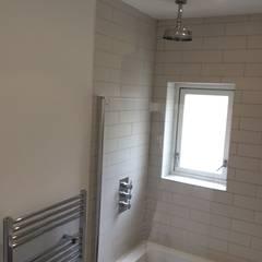 flat refurbishment hampstead:  Bathroom by london-refurbishment-company