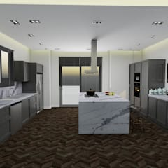 Kitchen units by AE Interıor Archıtecture