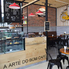 Bars & clubs by DV ARQUITETURA, Industrial
