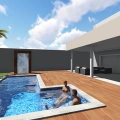 Reforma espaço gourmet: Casas familiares  por Vilas Bôas Arquitetura