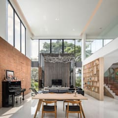 Living room by Rakta Studio