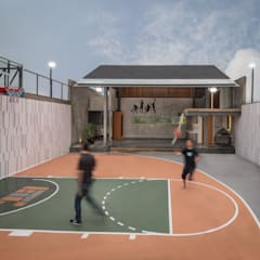 Salle de sport de style  par Rakta Studio