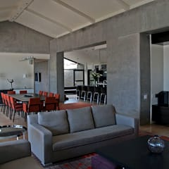 Private Space:  Living room by PWM Architects