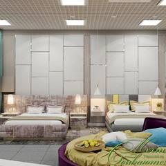 Мебельный салон: Рабочие кабинеты в . Автор – Компания архитекторов Латышевых 'Мечты сбываются'