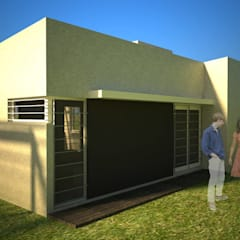 Prefabricated home by Arq. Germán Perez Biello