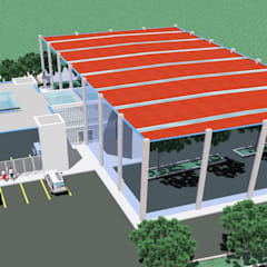 Stadiums by Luis Fojo Arquitecto