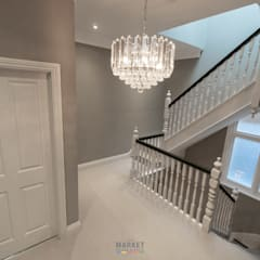 HOUSE EXTENSION AND LOFT CONVERSION WITH FULL HOUSE REFURB IN KEW:  Stairs by The Market Design & Build