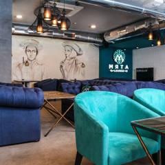 Кальянный бар «МЯТА Lounge»: Стены в . Автор – Studio Architecture•Design