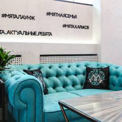 Кальянный бар «МЯТА Lounge»: Столовые комнаты в . Автор – Studio Architecture•Design