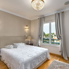 Apartamento de luxo no Monte Estoril Quartos clássicos por ImofoCCo - Fotografia Imobiliária Clássico