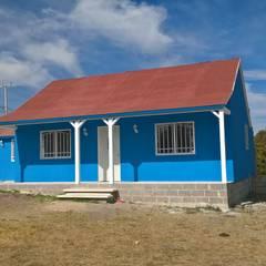 Rumah prefabrikasi by Casa Prefabricada en Mexico.