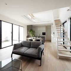 Salas / recibidores de estilo  por TERAJIMA ARCHITECTS, Moderno