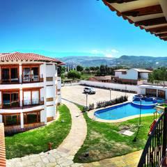 Garden Pool by cesar sierra daza Arquitecto