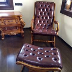 Cuartos de estilo  por Jamali interiors, Asiático Madera Acabado en madera