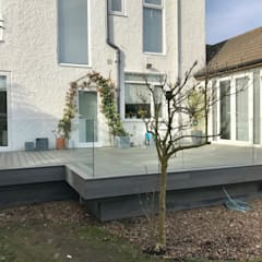 Trex Island Mist:  Terrace by Browns Landscape and Decking Ltd