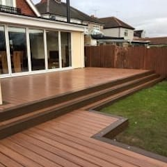 Trex Tiki Torch:  Terrace by Browns Landscape and Decking Ltd