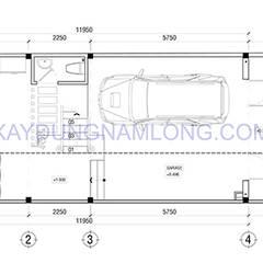 Thiết kế nhà đẹp 4 tầng:  Nhà by Thiết kế nhà đẹp ở Hồ Chí Minh, Hiện đại