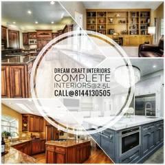 Muebles de cocinas de estilo  por Dream craft interiors