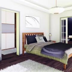 Berat Yeğen Mimarlık San ve Tic LTD ŞTİ – Gül Sitesi Kentsel Dönüşüm Projesi:  tarz Küçük Yatak Odası