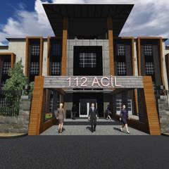 مستشفيات تنفيذ Berat Yeğen Mimarlık San ve Tic LTD ŞTİ