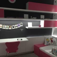 Dormitorio Infantil : Dormitorios infantiles de estilo  por Modulus