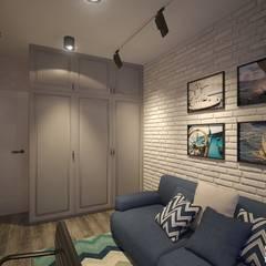 Гостевая: Рабочие кабинеты в . Автор – Art-line Design