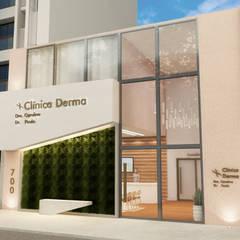 Clinics توسطNP projetos comerciais, مدرن شیشه