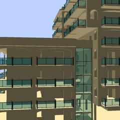 Prospetti: Condominio in stile  di Ing. Edoardo Contrafatto