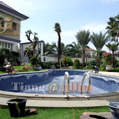 من Tukang Taman Surabaya - Tianggadha-art بحر أبيض متوسط حجر