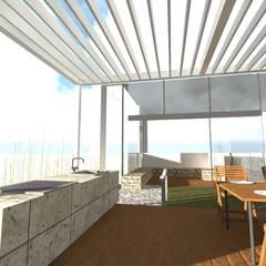 Jardines zen de estilo  por Designo Arquitectos