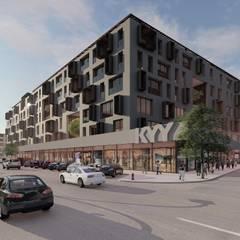 محلات تجارية تنفيذ ΛRCHIST Mimarlık|Archıtecture