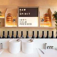 Raw Spirit:  Bars & clubs by Shape London, Modern