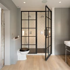 Shower room:  Bathroom by Shape London