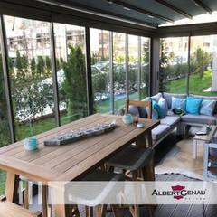 Albert Genau – Architectural Glazing Systems:  tarz Kış Bahçesi