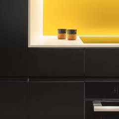 Lemon Tree House:  Kitchen units by Shape London,