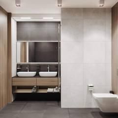 IRONMOOD: Ванные комнаты в . Автор – SHATOdesign,