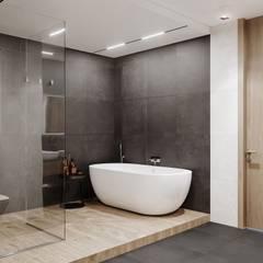 IRONMOOD: Ванные комнаты в . Автор – SHATOdesign