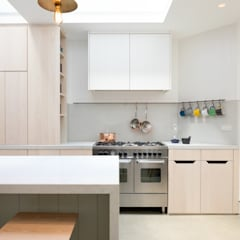The Signal House:  Built-in kitchens by Shape London