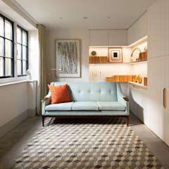 The Signal House:  Living room by Shape London, Modern