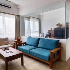 Oficinas de estilo  por 弘悅國際室內裝修有限公司