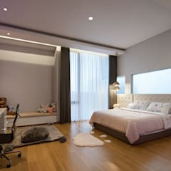 Girls Bedroom by Rakta Studio