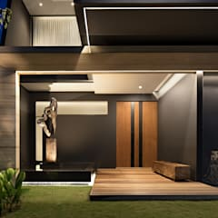 PJ House :  Halaman depan by Rakta Studio