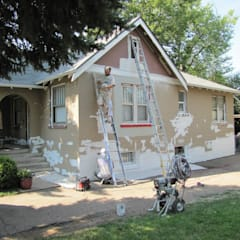 Preparing for Exterior paint:  Walls by Informatics USA