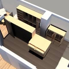Remodelacion Phent House Torres de Colon - Rodadero Santat Marta : Vestidores de estilo  por NOGUERA ARQUITECTOS , Moderno