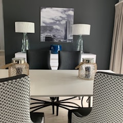 Home Renovation, Jukskei Park, Johannesburg:  Dining room by CS DESIGN